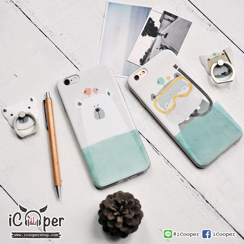 MAOXIN Seven Case Hippo & Polar bear (iPhone6/6s)