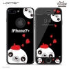 LOFTER Black Pets Full Cover - Sea lion (iPhone7+)