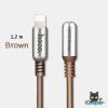 hoco U17 L-Capsule Data Cable 1.2M (Brown)