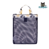 RONG.SHI.DAI Coating Mesh Handy Pouch - Explosion (Blue)