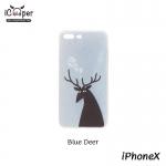MAOXIN Island Case - Blue Deer (iPhoneX)