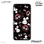 LOFTER Pets TP Case - Cat & Rabbit (iPhone7+)