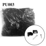 กิ๊ปพลาสติจับสายไฟ2x2.5(ถุงละ1000) สีดำ
