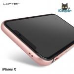 LOFTER Solid Color Bumper - Gold (iPhoneX)