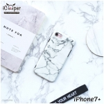 Marble Case - White (iPhone7+)