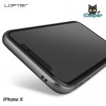 LOFTER Solid Color Bumper - Space Gray (iPhoneX)