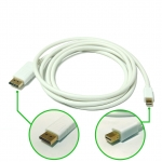 Mini DisplayPort to DisplayPort Adapter Cable 1.8M