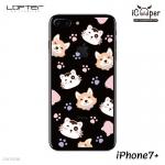 LOFTER Pets TP Case - Cat & Dog (iPhone7+)