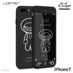 LOFTER iRobot Full Cover - Black Robot (iPhone7)