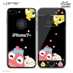 LOFTER Black Pets Full Cover - Chicken (iPhone7+)