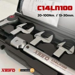 ประแจปอนด์ปากตาย เปลี่ยนหัว 20-100Nm. C14LN100