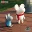 Semk - Mic Saving Bank (Rat Standing/White 20cm) thumbnail 2
