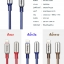 hoco U17 L-Capsule Data Cable 2M (Blue) thumbnail 15